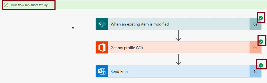 how to create Automated flow in Microsoft Flow