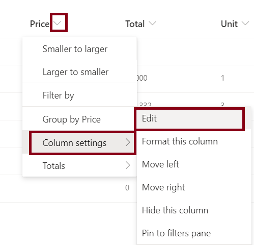 How to delete a column from SharePoint list
