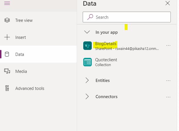 powerapps filter sharepoint list column