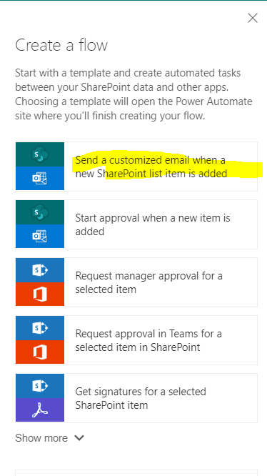 Microsoft Flow or PowerAutomate: Trigger email based on user input