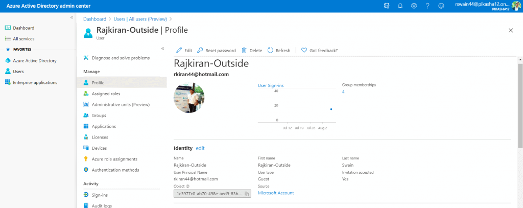 Share PowerApps to guest users