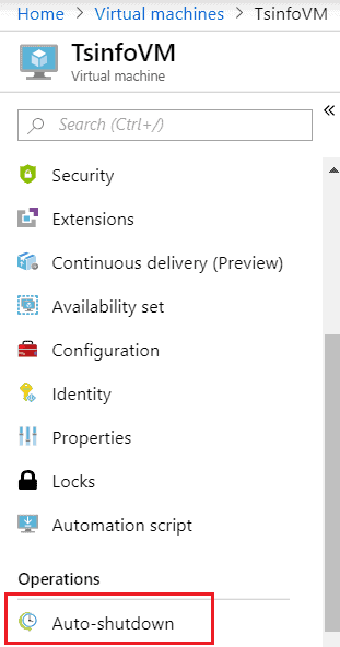 start Azure VM automatically