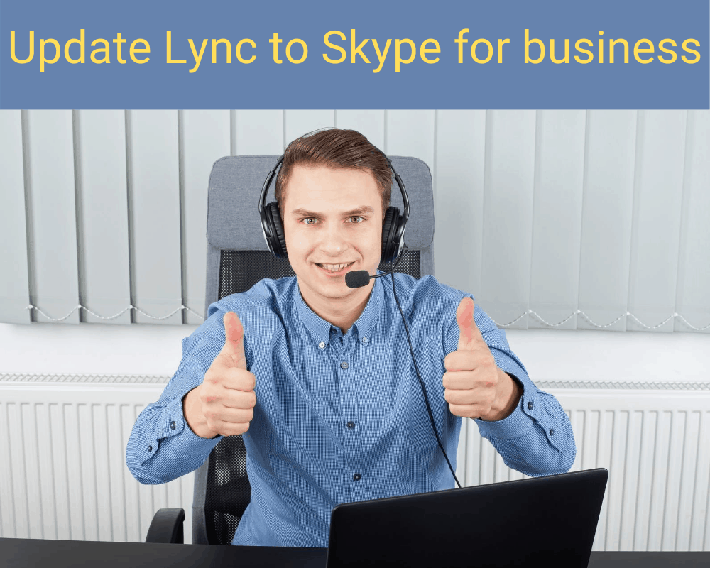update lync to skype for business