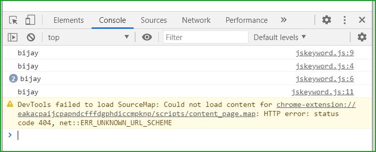 javascript var keyword