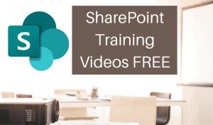 SharePoint Training Videos