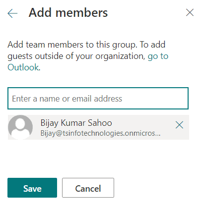 Add user to the SharePoint site