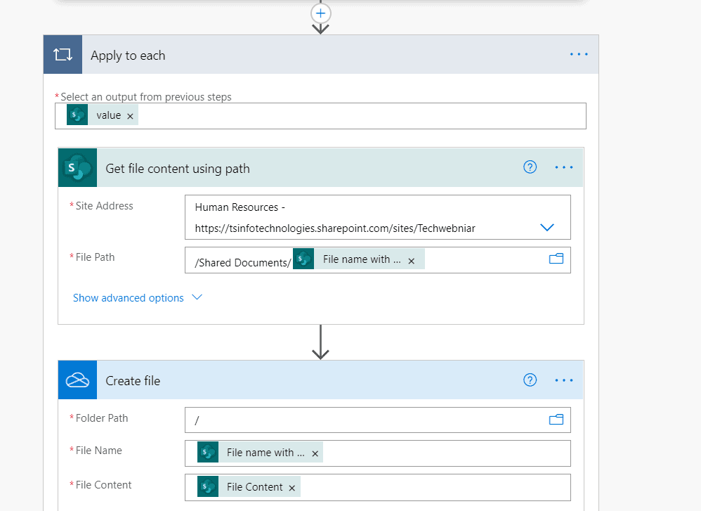 move files from onedrive for business to sharepoint online