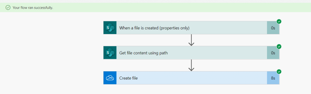 power automate move file from sharepoint to onedrive