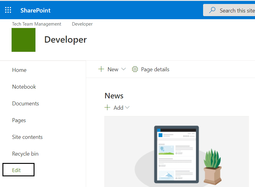 add parent site navigation to subsite in SharePoint