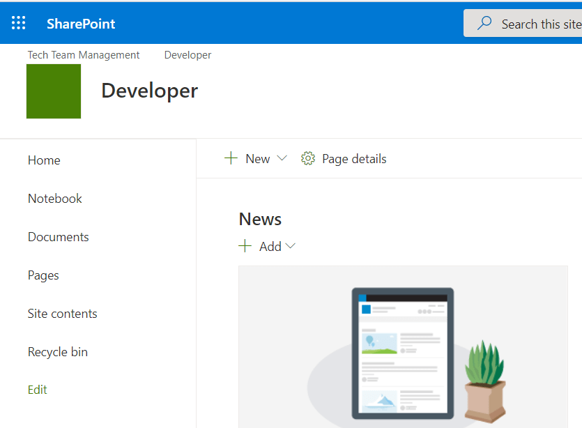 SharePoint online add parent site navigation to subsite