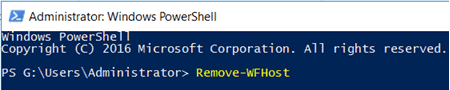 uninstall workflow manager sharepoint 2013