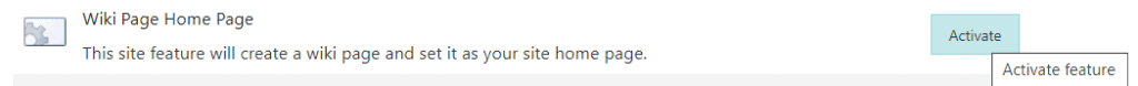 site assets library missing in SharePoint site