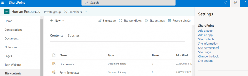 add or remove site collection admins in SharePoint sites