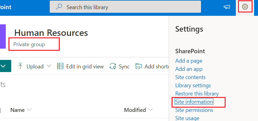 How do I change the SharePoint site from private to public