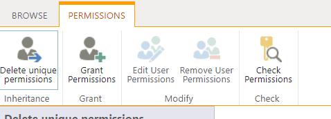 Delete unique permission in SharePoint list