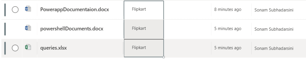 SharePoint Online document library metadata