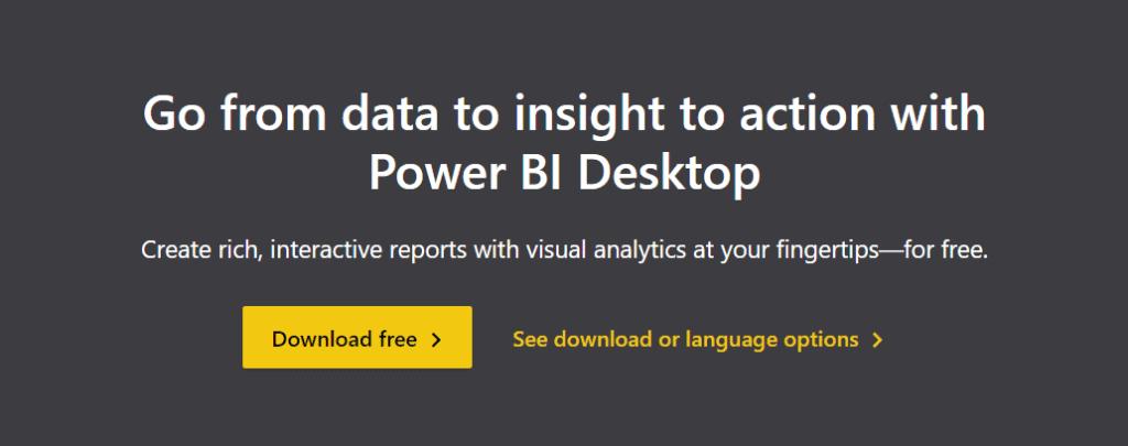 download free version of power bi desktop