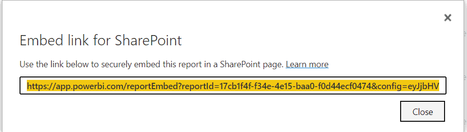 How to get Embed link for SharePoint