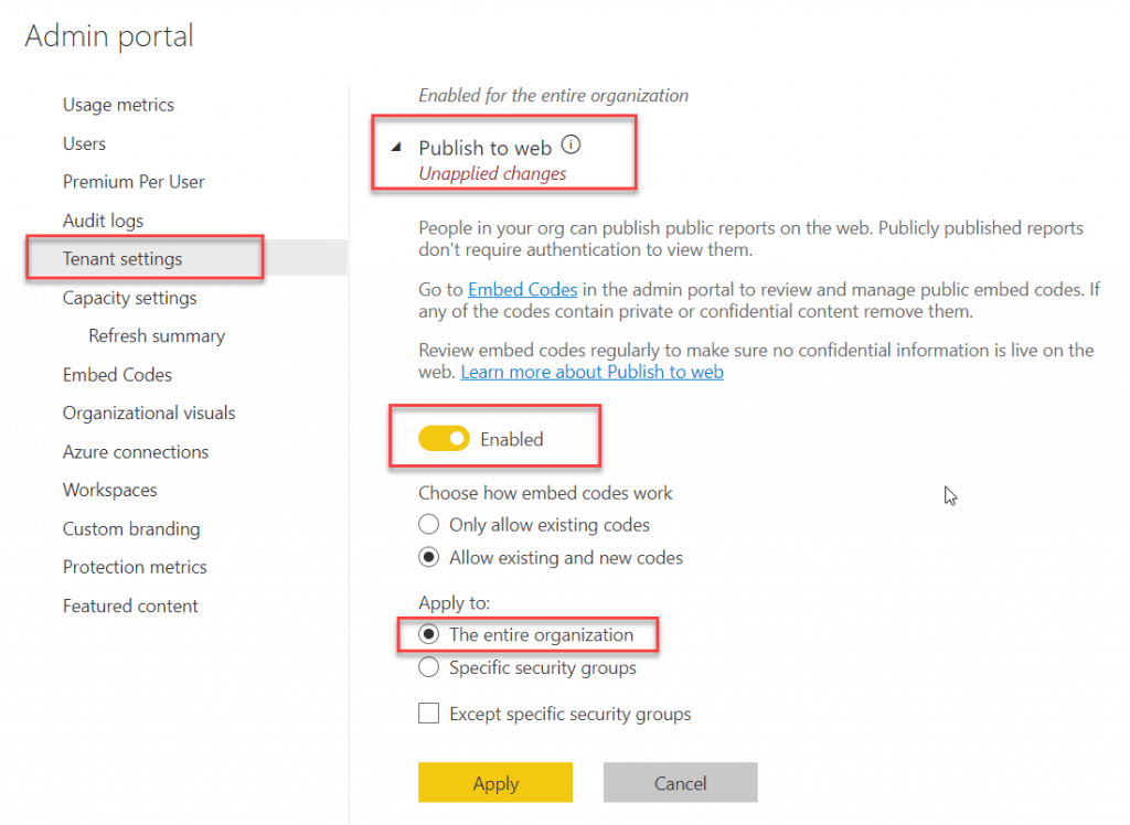 office 365 contact your admin to enable embed code creation
