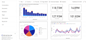 embed power bi report in sharepoint online