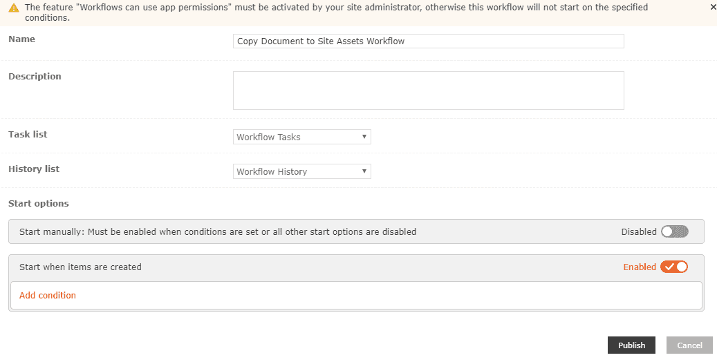 nintex workflow examples Copy document to another library