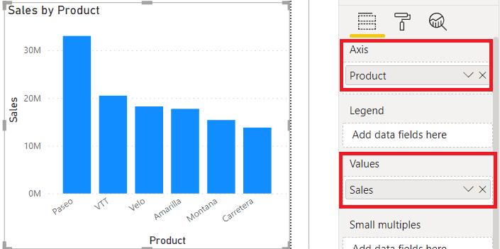 Power BI Stacked Column Chart