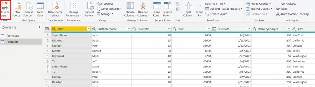 power bi stacked column chart multiple legends