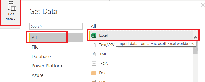 How to create a Power BI Clustered Column Chart