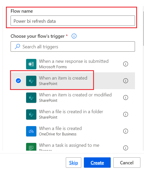 automatically refresh power bi report