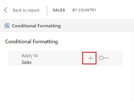 conditional formatting in power bi pyramid chart