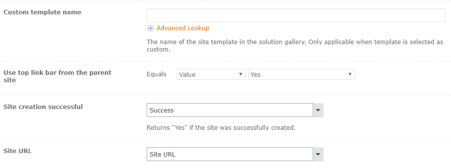 create site using nintex workflow for office 365