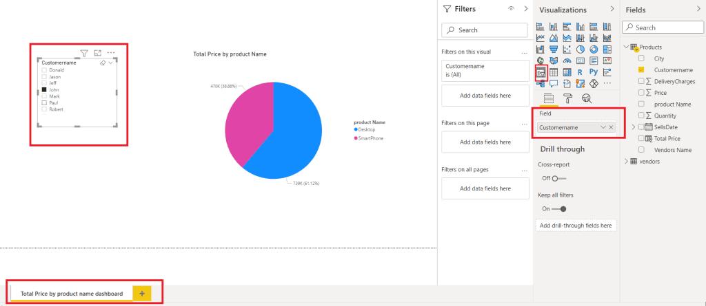 how to create report in power bi desktop