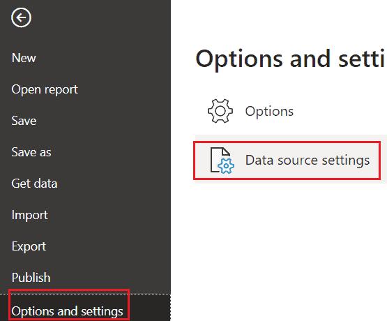 Microsoft Power bi desktop change data source location