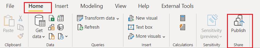 Power bi desktop features