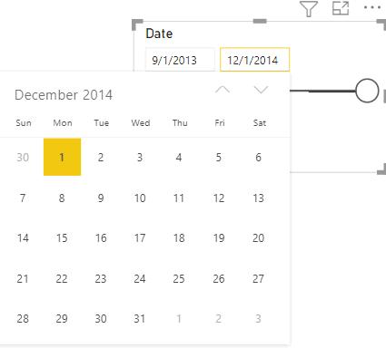 Power BI Date Slicer