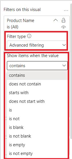 Power BI Filter vs Slicer