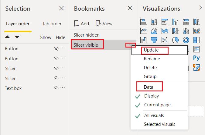 Microsoft power bi add slicer panel