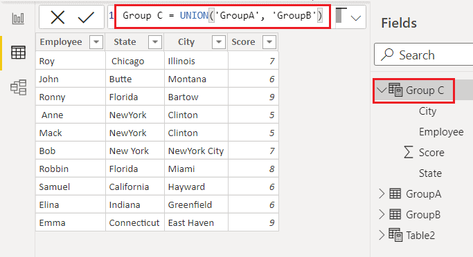 How to create Calculated table on Power BI