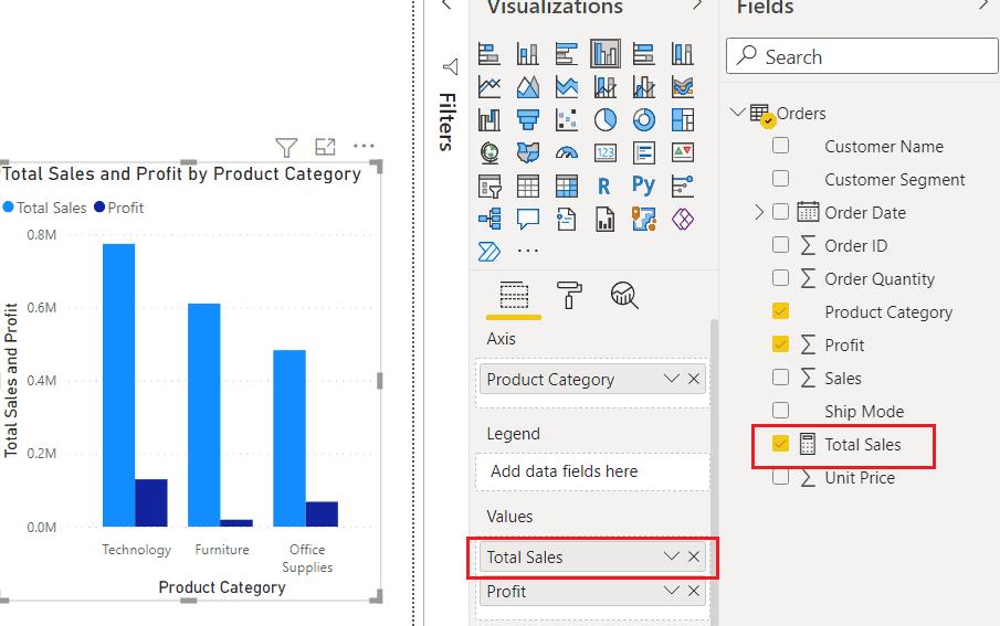 How to use Measure in Power BI Desktop