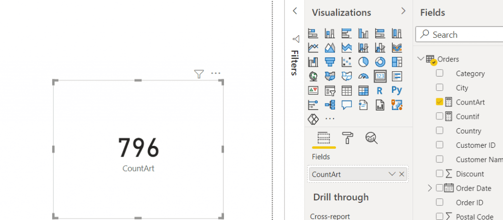 Power bi measure count if contains text