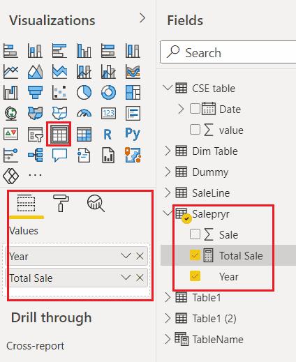 power bi show text if no data