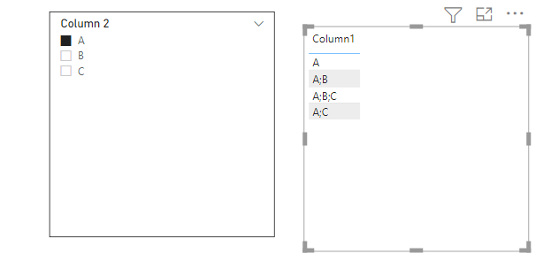 power bi filter multiple values