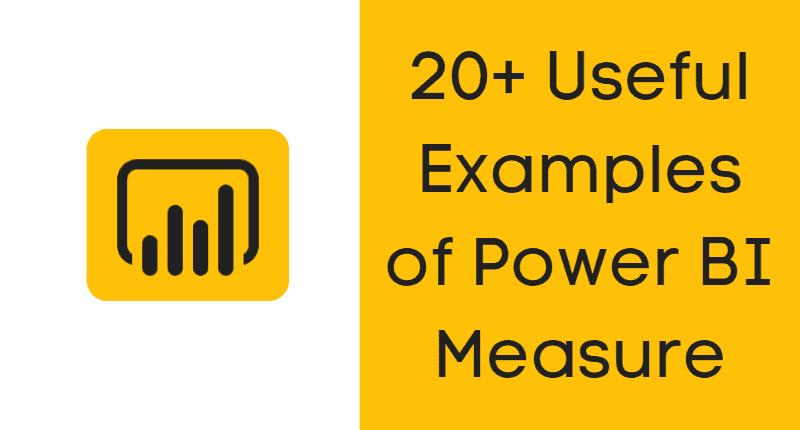 Power bi measure examples