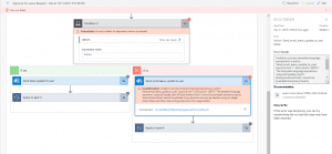 Unable to process template language expressions in action Power Automate